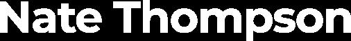Nate Thompson - UX, UI and Web Designer